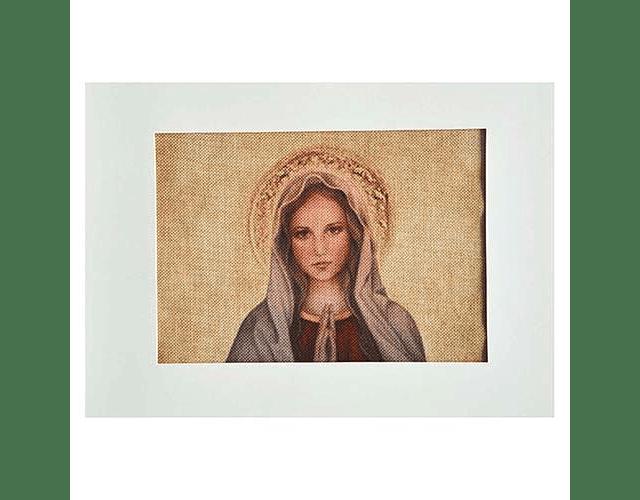 Lienzo Virgen Santísima