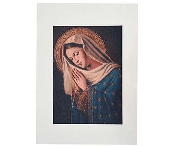 Lienzo Virgen Rezando