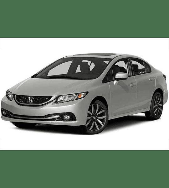 Manual De Taller Honda Civic (2011-2016) Ingles