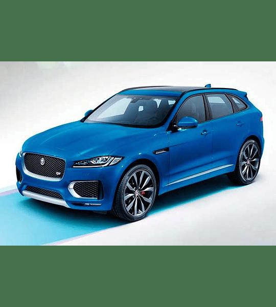 Manual De Despiece Jaguar F-Pace (2016–2020) Español