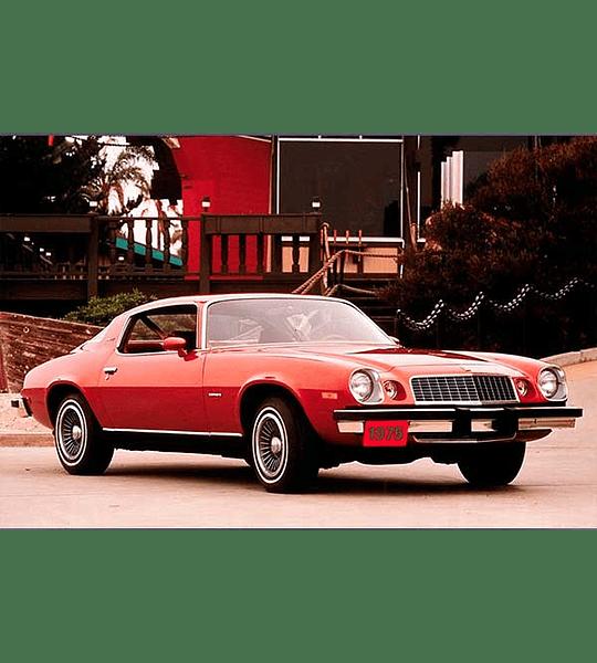 Manual De Taller Chevrolet Camaro (1967-1981) Español