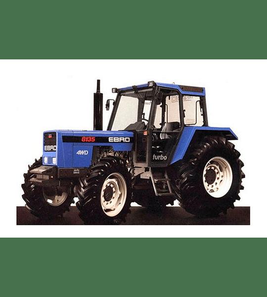 Manual De Taller Motores Ebro 155-e. 160-e. 470 Y 684-e ( 1997 - 1980 )