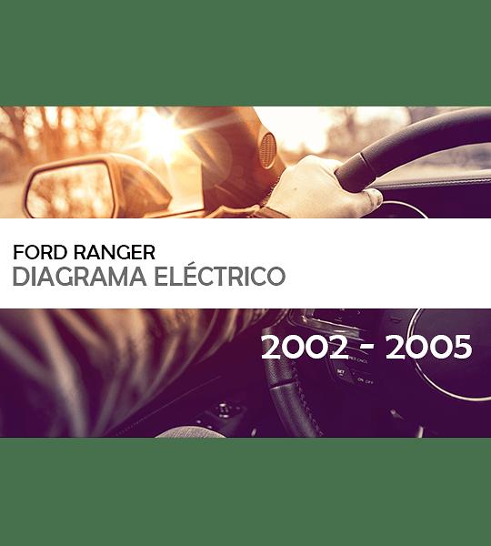 Diagrama Eléctrico Ford Ranger ( 2002 - 2005 ) Español
