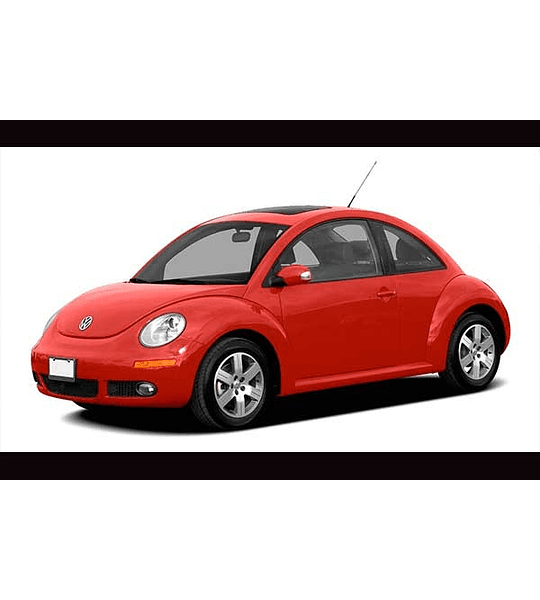 Manual De Taller Volkswagen Nuevo Beetle (1998-2010) Inglés