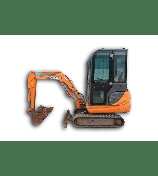 Manual De Taller Excabadora Case Cx16b-18b ( Español )