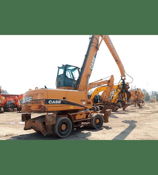 Manual de Taller Excavadora Case WX210-240 ( Inglés )