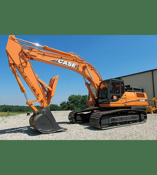 Manual de Taller Case Excavadoras  CX330 - 350 ( Inglés )