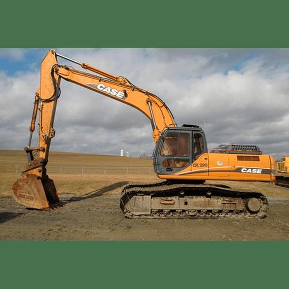 Manual de Taller Case Excavadoras  CX290 ( Inglés )