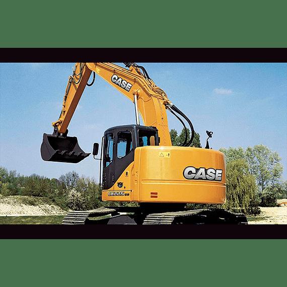 Manual de Taller Case Excavadoras  CX225SR ( Inglés )