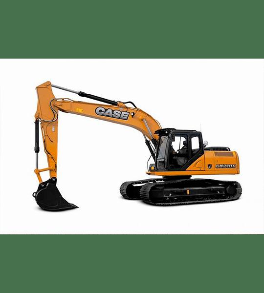Manual de Taller Excavadora Case CX210 - 230 - 240 ( Inglés )