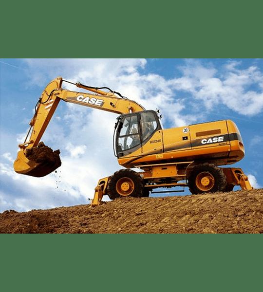 Manual de Taller Excavadora Case WX210 - 240 ( Inglés )