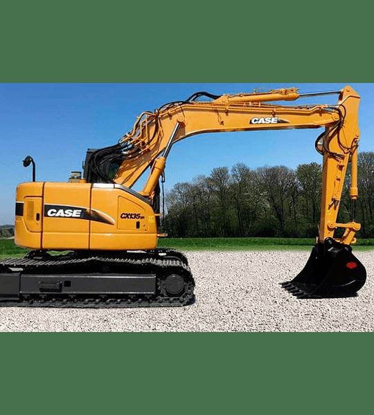 Manual de Taller Excavador Case CX135SR ( Inglés )