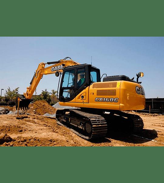 Manual de Taller Excavadora Case CX160 ( Inglés )