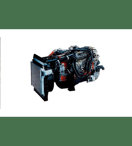 Manual de Taller Motor Isuzu 6WG1T ( Inglés )