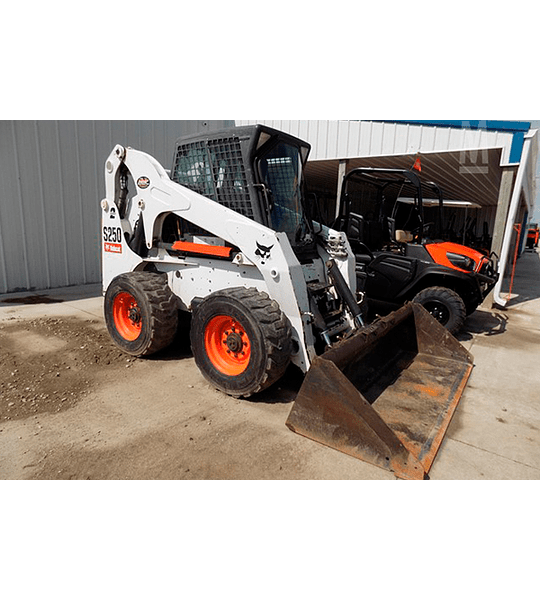 Manual de Taller Bobcat  S250 2008 ( Inglés )