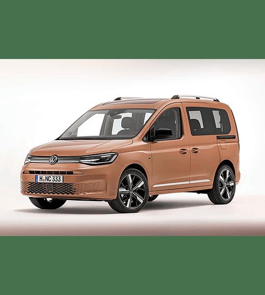 Manual De Taller Volkswagen Caddy (2015–2020) Inglés