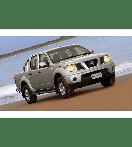 Manual de Taller Nissan Navara D40 Series ( 2005 - 2007 ) Inglés