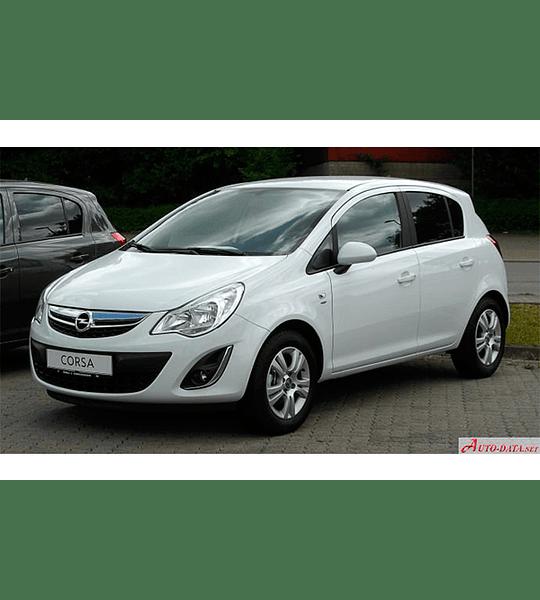 Manual de Taller Opel D ( 2007 - 2011 ) Español