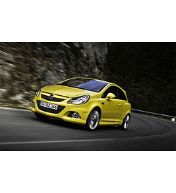 Manual de Taller Opel Corsa C ( 2006 - 2010 ) Inglés Haynes
