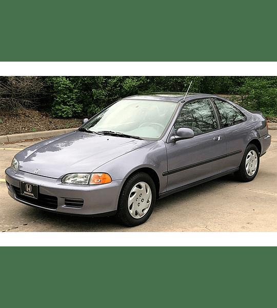 Manual de Taller Honda Del Sol , CRX, Civic ( 1984 - 1995 ) Inglés