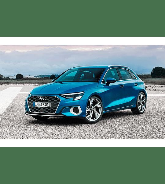 Diagramas Eléctricos Audi A3 ( 2012 - 2020 ) Inglés