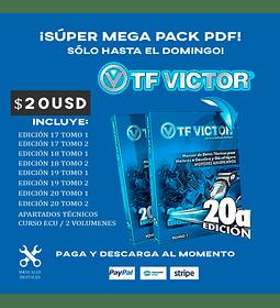 Mega Pack Manuales TF Victor 17 / 18 / 19 / 20 + Curso ECU Español