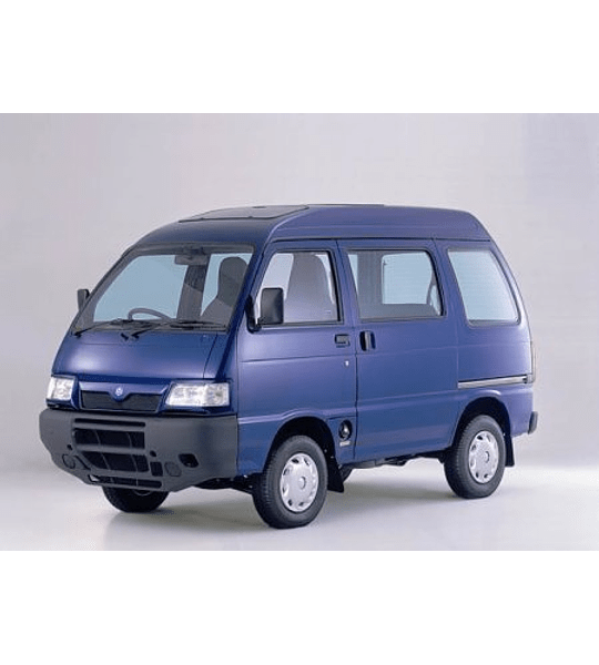 Manual Taller Daihatsu Piaggio Porter (1999-2011) Inglés