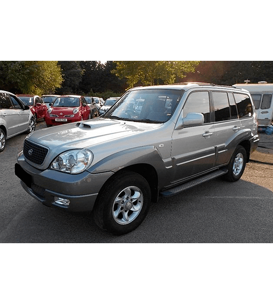 Manual De Taller Hyundai Terracan (2001-2007) Español