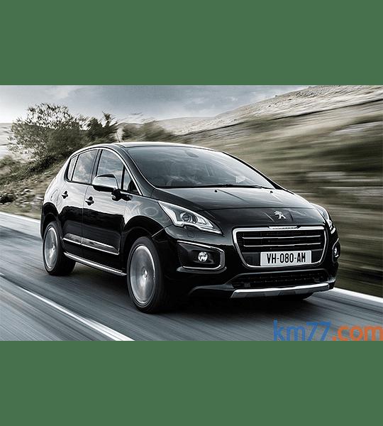 Manual de Usuario Peugeot 3008 ( 2014 - 2015 ) Español