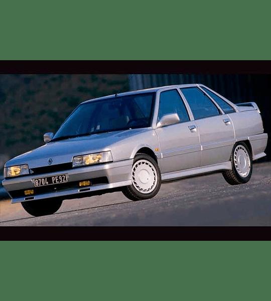 Diagramas Eléctricos Renault 21 Turbo ( 1988 ) Español