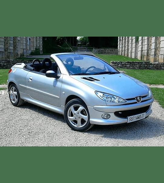Manual de Usuario Peugeot 206cc ( 2006-2008 ) Español