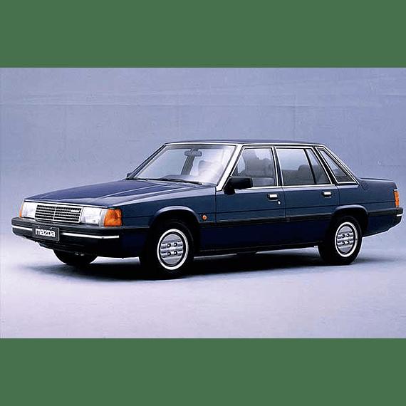 Manual De Taller Mazda 929 (1977–1981) Inglés