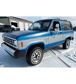 Manual De Despiece Ford Bronco (1980 - 1986) Inglés
