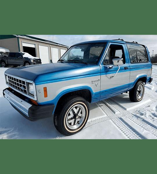 Manual De Despiece Ford Bronco (1980 - 1986) Inglés