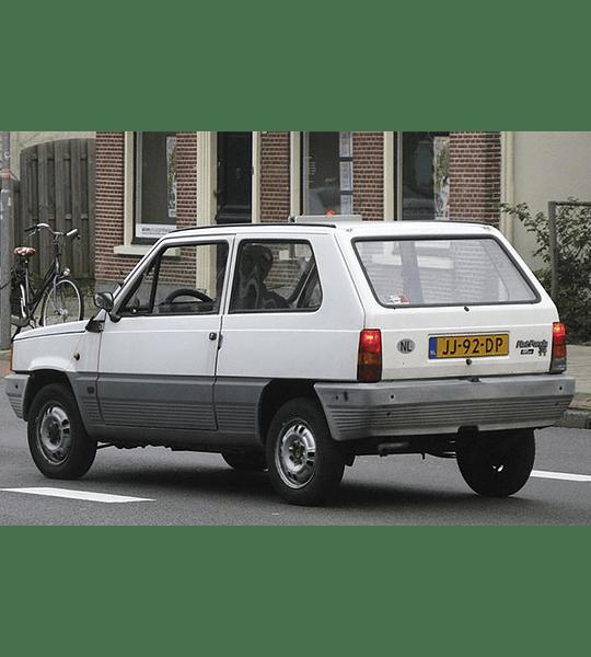 Manual de Taller Fiat Panda / Haynes ( 1981 - 1991 ) Inglés