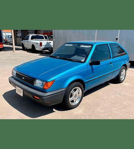 Manual de Taller Chevrolet Storm/ Spectrum Haynes ( 1985 - 1993 ) Inglés