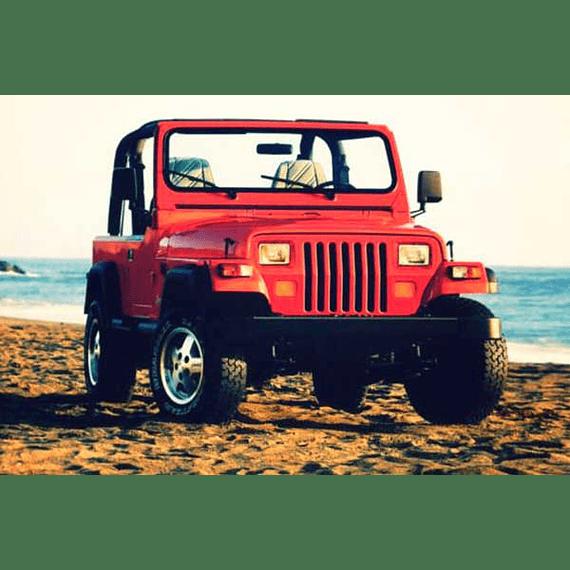 Manual de Taller Jeep Wrangler / YJ  / Haynes ( 1987 - 1995 ) Inglés