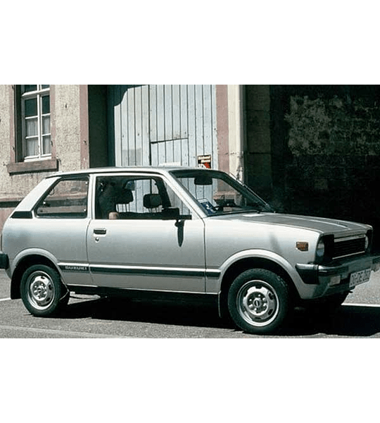 Manual de Taller Suzuki Alto ( 1980 - 1985 ) Inglés