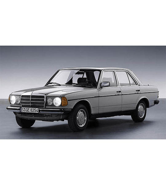 Manual de Taller Mercedes-Benz W123 serie ( 1976-1985 ) Inglés
