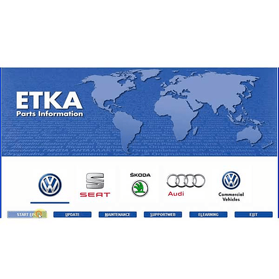 ETKA 7.5 + 8.1 (1314) 10.2019 + database