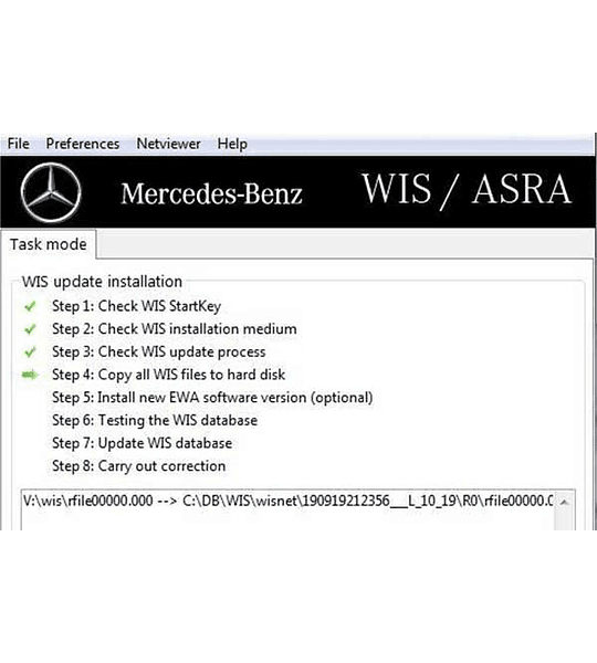Mercedes Benz WIS / ASRA ( 2020 )