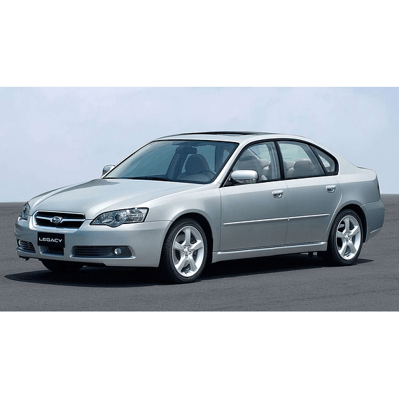 Manual De Taller Subaru Legacy (1998 - 2004) En Español