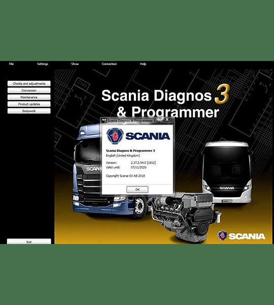 Scania Diagnos Programmer SDP3 2.44.1 + 2.44.3 ( 2020 ) Multilenguaje