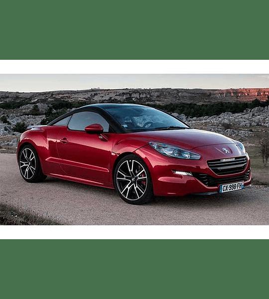 Manual De Taller Peugeot Rcz ( 2009 - 2015 ) En Inglés
