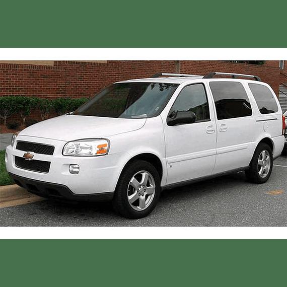 Manual De Despiece Chevrolet Uplander ( 2005 - 2009 ) En Español