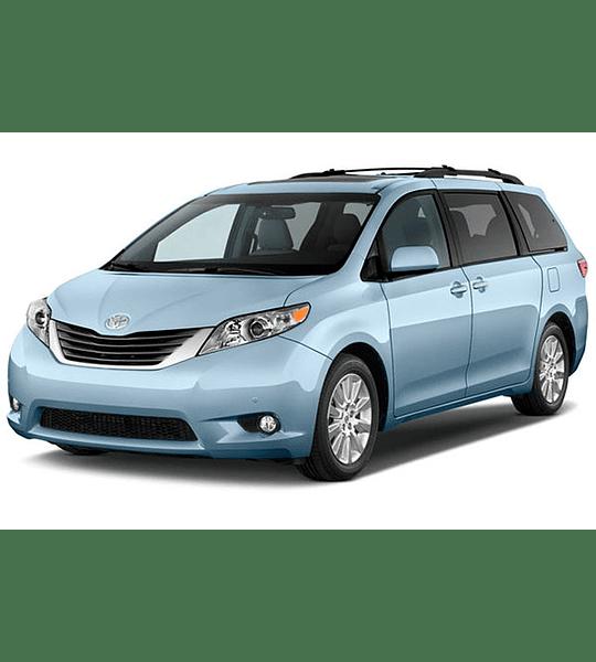 Diagramas Eléctricos Toyota Sienna ( 2014 - 2017 ) Inglés