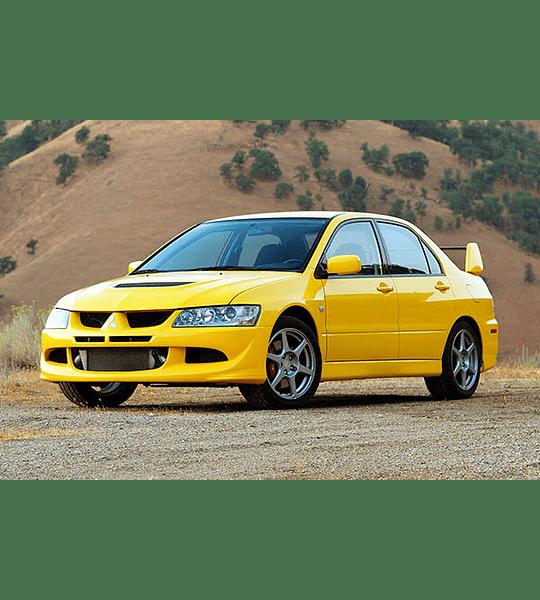 Manual De Taller Mitsubishi Evo 8 (2003-2005) En Español