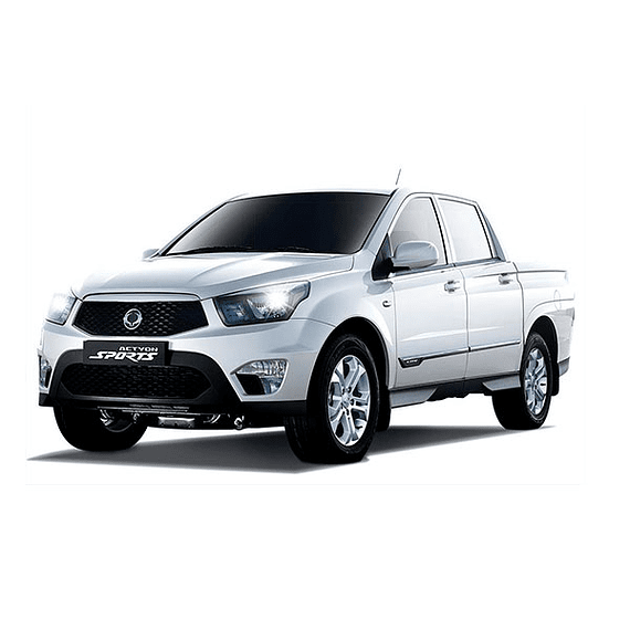 Manual de Usuario Ssangyong Actyon Sports ( 2012 - 2020 ) En Español