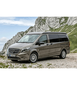 Manual de Despiece Mercedes Benz Vito ( 2014 - 2020 ) En Español