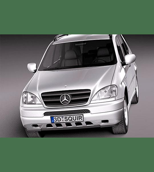 Manual de Despiece Mercedes Benz W163 ( 1997 - 2005 ) En Español